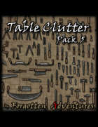 Table Clutter - Pack 5