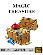 Magic Treasure No.1 - [Dungeon World]