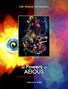 World of AEIOUS: The Powers of AEIOUS