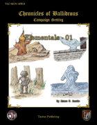 Chronicles of Ballidrous - Elementals - 01