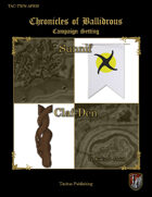 Chronicles of Ballidrous - Town Maps – Sunnif and Claf-Den