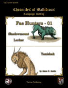 Chronicles of Ballidrous - Fae Hunters - 01