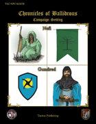 Chronicles of Ballidrous - NPCs - Nefi and Gundred
