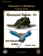 Chronicles of Ballidrous - Elemental Beasts - 01