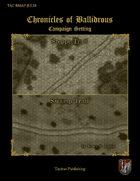 Chronicles of Ballidrous - Battle Maps - Steppe Trail & Swamp Trail