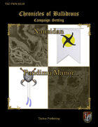 Chronicles of Ballidrous - Town Maps – Nansidan & Pandimu Manor