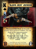"""black Jack"" Jackson - Custom Card"
