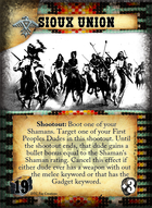 Sioux Union - Custom Card