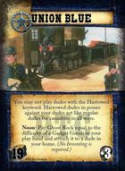 Union Blue - Custom Card