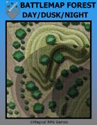 Battlemap Forest Day/Dusk/Night