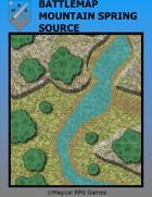 Battlemap Mountain Spring Source
