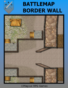 Battlemap Border Wall