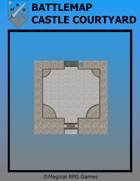 Battlemap Castle Courtyard