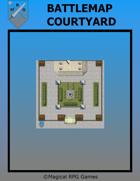 Battlemap Courtyard