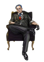 RPG Fantasy Character, Male, Mafia Man