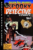 Spooky DetectiveComics #1