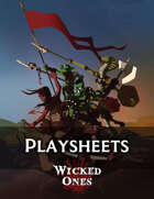 Wicked Ones: Character and Dungeon Sheets