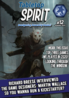 Tabletop SPIRIT Magazine Issue #12