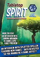 Tabletop SPIRIT Magazine Issue 13