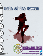 [VDP 5E] Path of the Rowen (Barbarian)