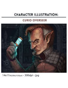 Curio Overseer - full color illustration