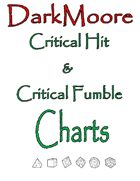 DarkMoore Critical Hit & Critical Fumble Charts