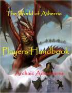 The World of Atherria - Players Handbook