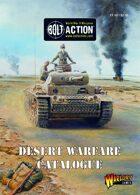Bolt Action Desert Warfare Catalogue