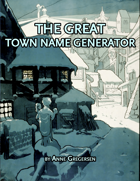 The Great Town Name Generator