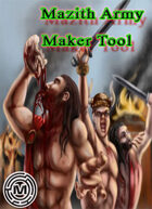 The Mazith Army maker Tool
