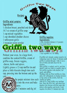 Cooking Griffin two ways