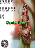 Druid  alphabet (mazith font )