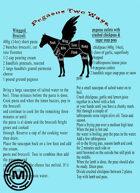 Cooking Pegasus two ways
