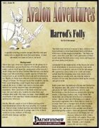 Avalon Adventures Vol 1, Issue #6 Harrod's Folly