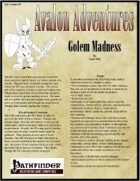 Avalon Adventures Vol 1, Issue #9 Golem Madness
