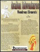 Avalon Adventures Vol 1, Issue #11 Wondrous Elements
