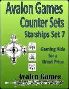 Avalon Counter Sets, Starships Set 7