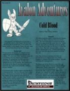 Avalon Adventures, Vol 2, Issue #2 Cold Blood