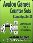 Avalon Counter Sets, Starships Set 8