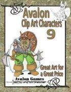 Avalon Clip Art Characters, Dwarf 2