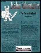 Avalon Adventures, Vol 2, Issue #9, The Forgotten Land