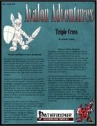 Avalon Adventures, Vol 2, Issue #10,Triple Cross