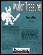 Avalon Treasure, Vol 1, Issue #11, What's Mine