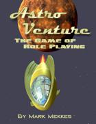 Astro Venture Character Sheet