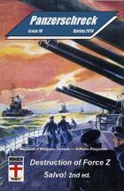 Panzerschreck Magazine #16 w/Destruction of Force Z game