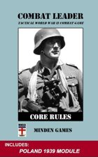 Combat Leader: Core Rules & Poland '39 SET