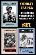 Combat Leader SET: Core Rules, Winter War & Volkssturm