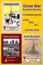Great War Solitaire BUNDLE