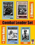 Combat Leader SET: Poland 1939, Winter War, Volkssturm, Core Rules