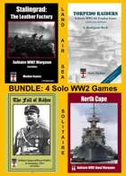 BUNDLE: 4 Solo WW2 Wargames